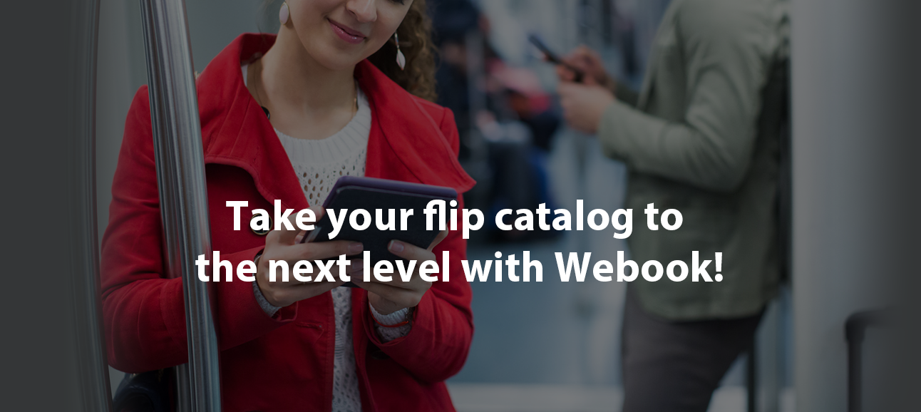 Take your flip catalog to the next level with Webook!